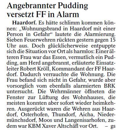 Fischbacher Einsatz